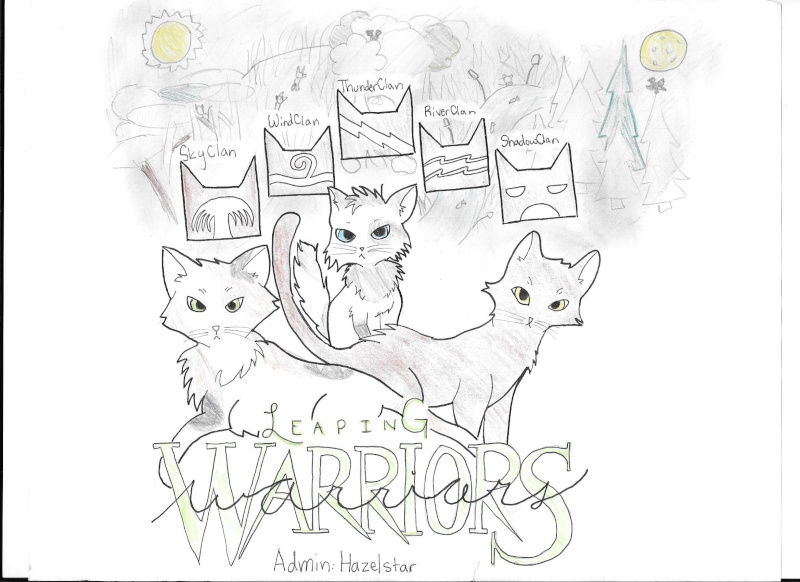 Leaping Warrior Cats