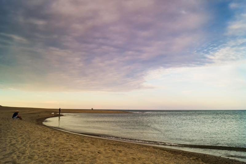 Fin de journée sur l embouchure de l Agly (Barcarès) Photo_10