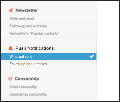 Custom Push Notifications: a new way to mobilize your community 09-10-11