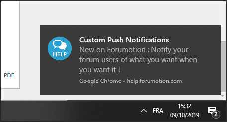 Custom Push Notifications: a new way to mobilize your community 09-10-13