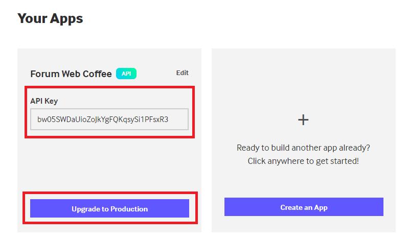 Obtenir la clé API GIPHY et activer l'insertion des GIF dans l'éditeur Giphy-14