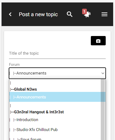 New improvements for the mobile version: quote, moderation tools... Sectio11