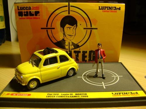 LUPIN III: FIAT 500 LUCCA COMICS Fiatlu10