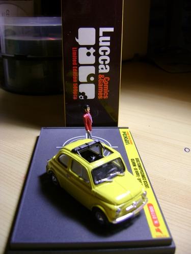 LUPIN III: FIAT 500 LUCCA COMICS Fiatlu12