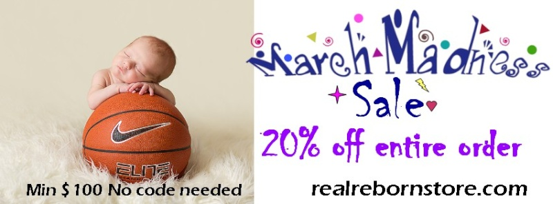 March Madness 20% off sale entire store!!  Marchs10