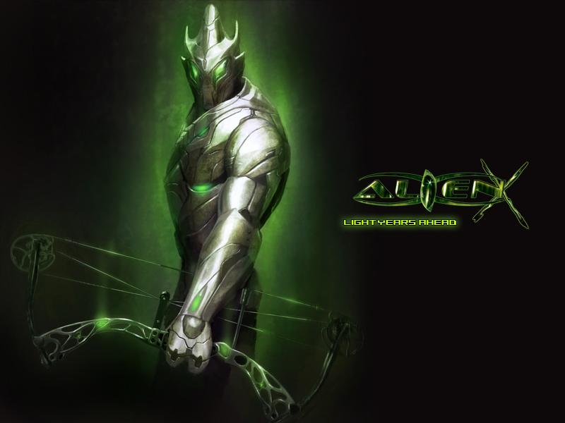 Un extra-terrestre sur les parcours... Alien-10