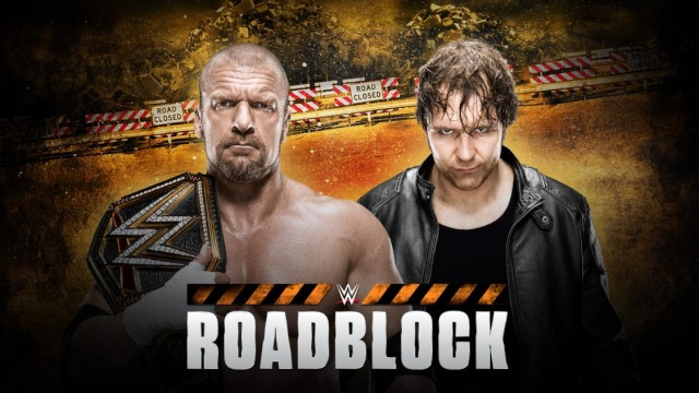 WWE Roadblock du 12/03/2016 20160311