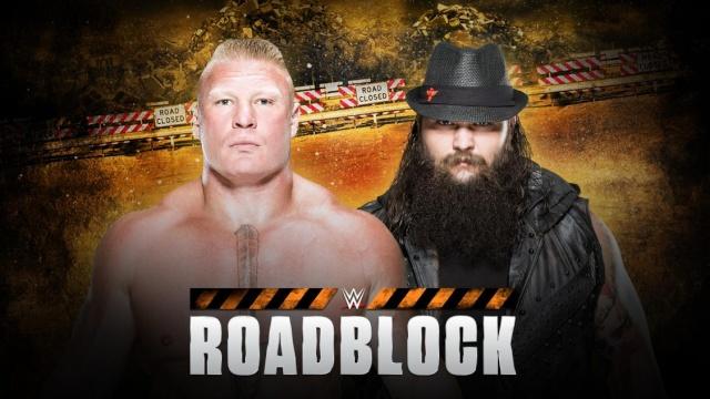 WWE Roadblock du 12/03/2016 20160312