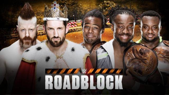 WWE Roadblock du 12/03/2016 20160313