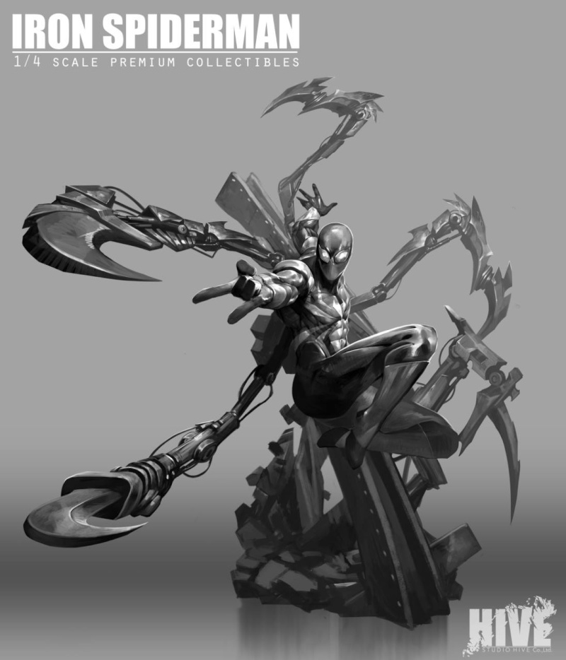 Premium Collectibles : Iron-spiderman** K20aao10