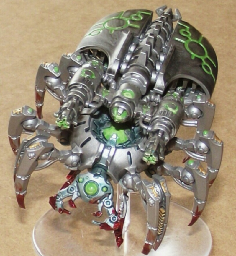 Planète Nécrons Canoptek Spider Dscf0521