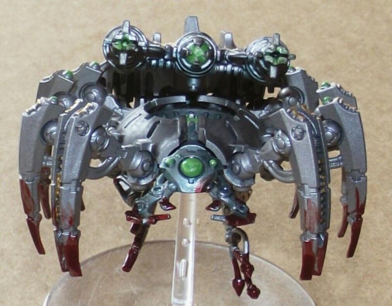 Planète Nécrons Canoptek Spider Dscf0522