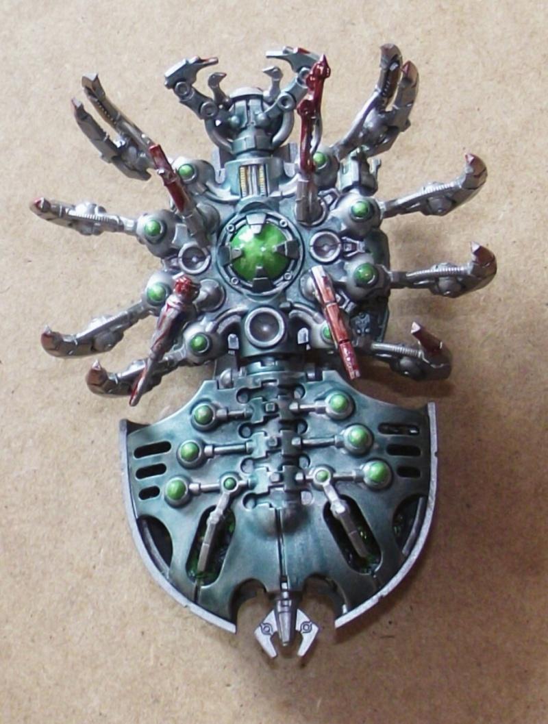 Planète Nécrons Canoptek Spider Dscf0523