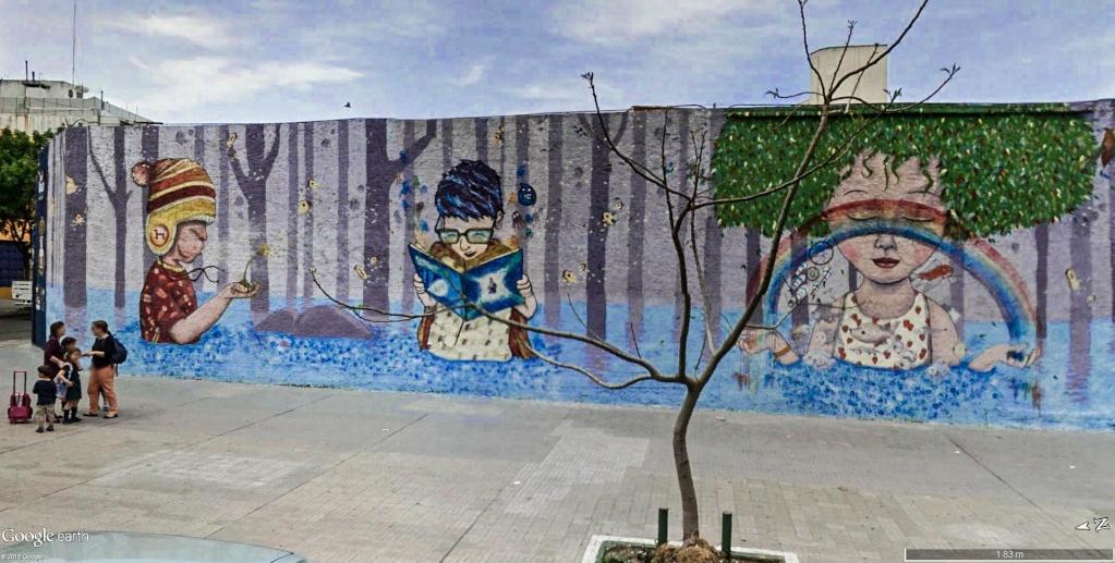 STREET VIEW : les fresques murales - MONDE (hors France) - Page 20 Fresqu14