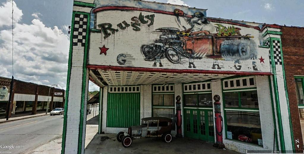 STREET VIEW : les fresques murales - MONDE (hors France) - Page 20 Garage10