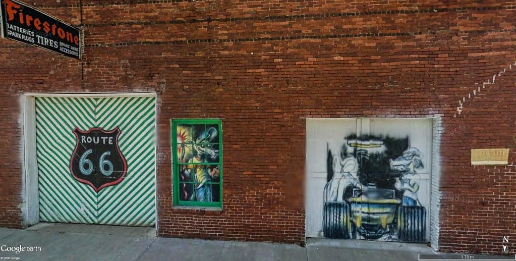 STREET VIEW : les fresques murales - MONDE (hors France) - Page 20 Garage11
