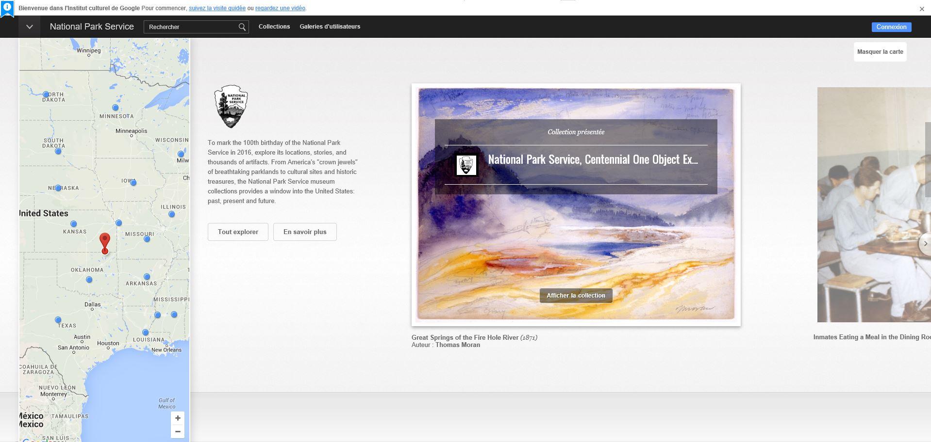 Google Street View ajoute 40 parcs nationaux à son arsenal Nation10