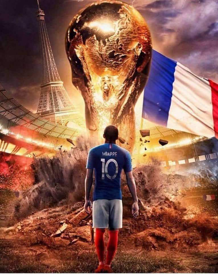 COUPE DU MONDE 2018  FRANCE  37182510