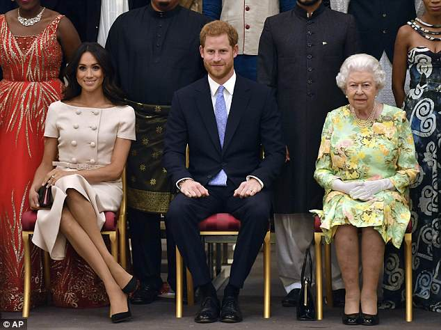 PRINCE HARRY ET MEGHAN MARKLE 4da95410