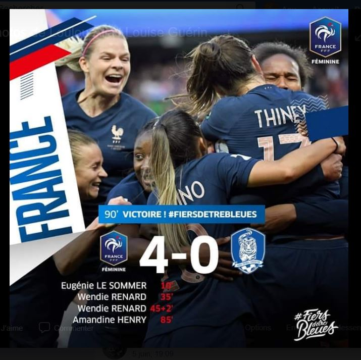 COUPE DU MONDE FEMININE DE FOOTBALL 2019 Bleu10