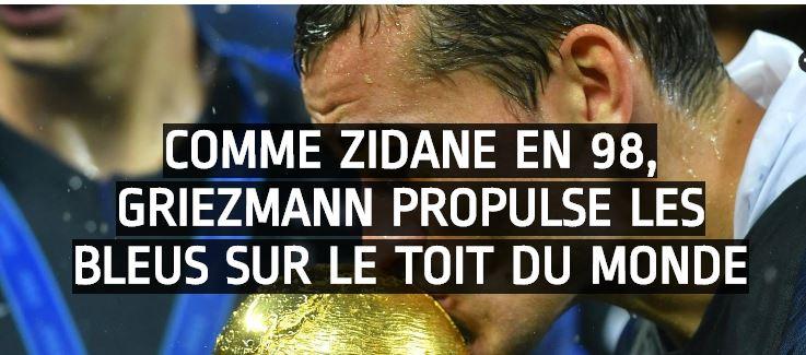 COUPE DU MONDE 2018  FRANCE  Cou10