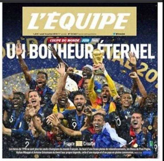 COUPE DU MONDE 2018  FRANCE  F10