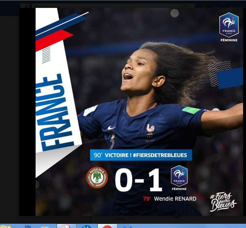 COUPE DU MONDE FEMININE DE FOOTBALL 2019 F11