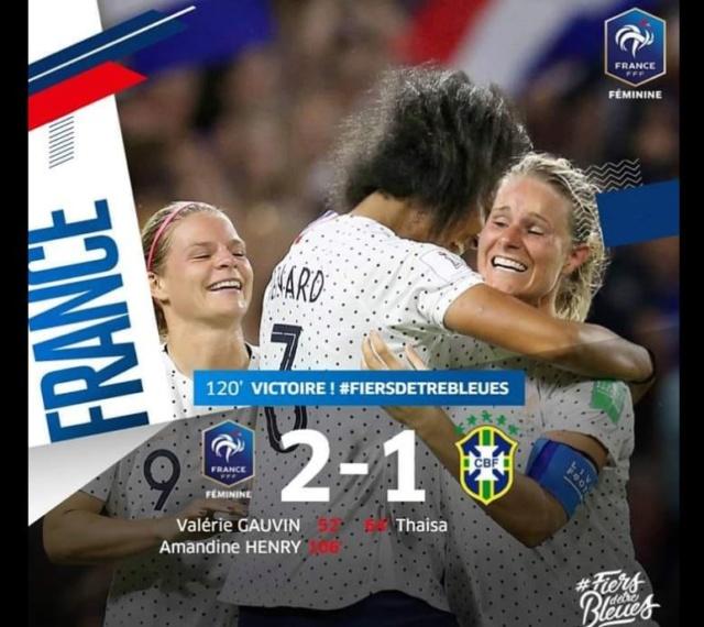 COUPE DU MONDE FEMININE DE FOOTBALL 2019 F12