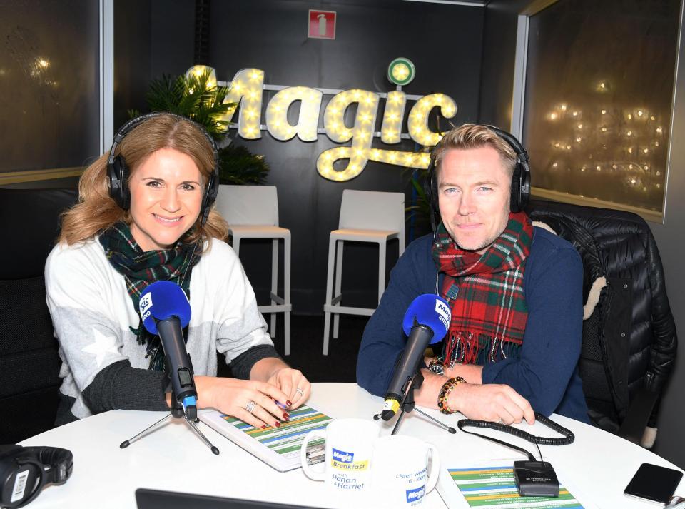 RADIO MAGIC BREAKFAST SHOW  AVEC RONAN ET HARRIET  SCOTT Nintch13