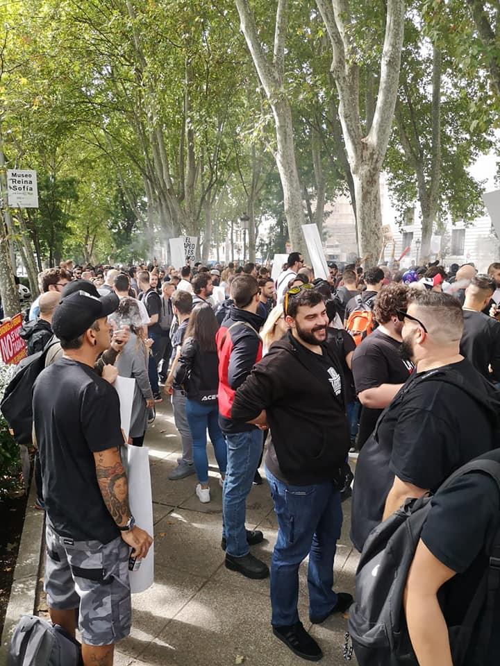 Manifestación de hoy en Madrid 70167610
