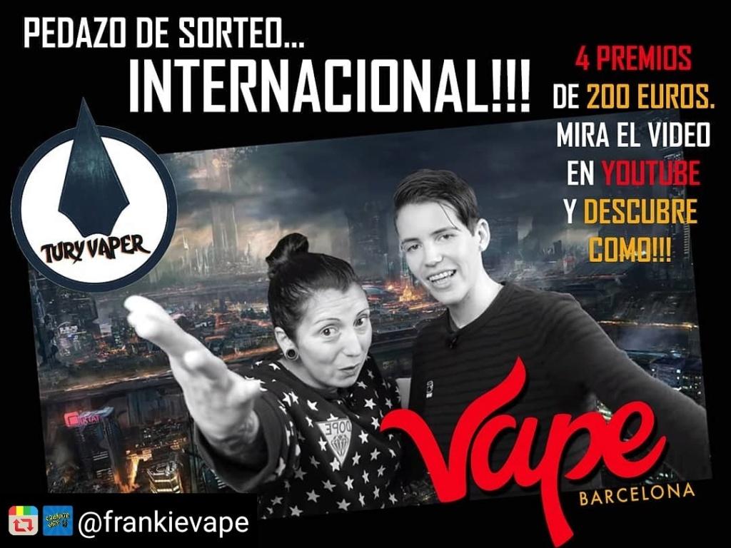 SORTEAMOS 800€ con Expo Vape Barcelona Img_2023