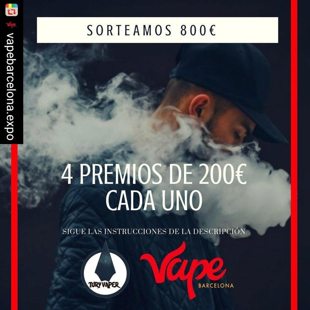 SORTEAMOS 800€ con Expo Vape Barcelona Img_2024