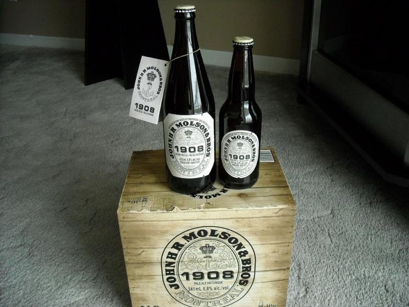 Molson pale ale 1908 02115