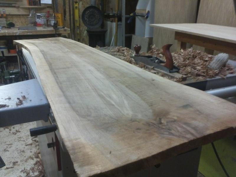 table basse en noyer Img42410