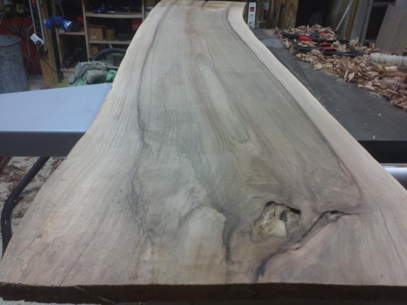 table basse en noyer Img42510