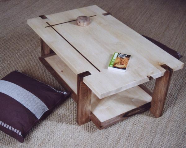 table basse en noyer Jean-b10