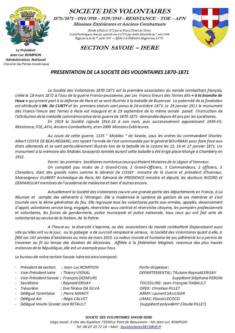 ACTIVITES DIVERSES DE LA SECTION SAVOIE ISERE - Page 5 Prysen10