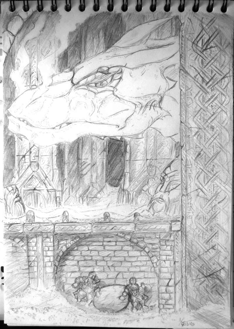 Les dessins de Gromdal - Page 8 Dragon10