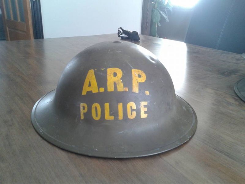 Canadian Civil Defense Helmet  12794310