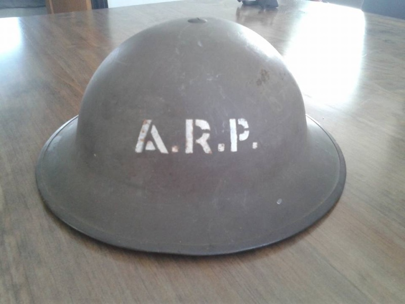 Canadian Civil Defense Helmet  12795510