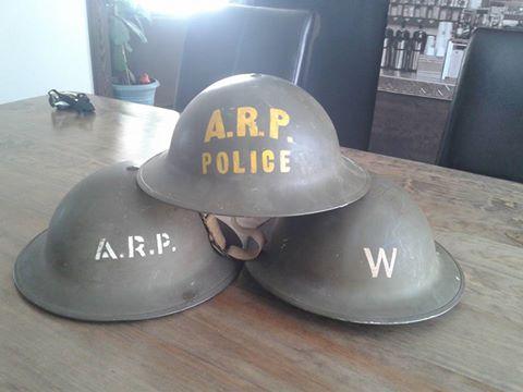 Canadian Civil Defense Helmet  12802710