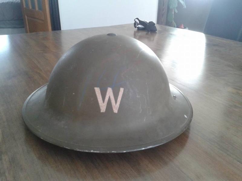 Canadian Civil Defense Helmet  12813910