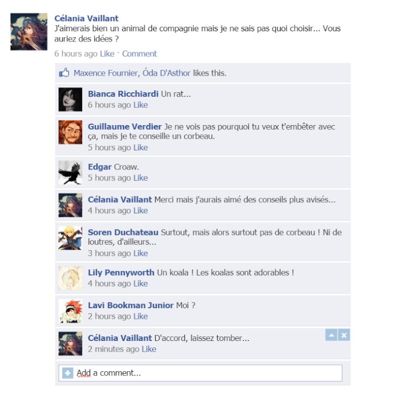 Et si nos personnages avaient Facebook ? Captur11