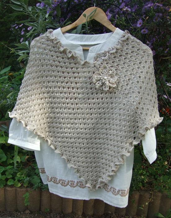 Mes tricots (màj 8.10.16) - Page 5 Poncho10