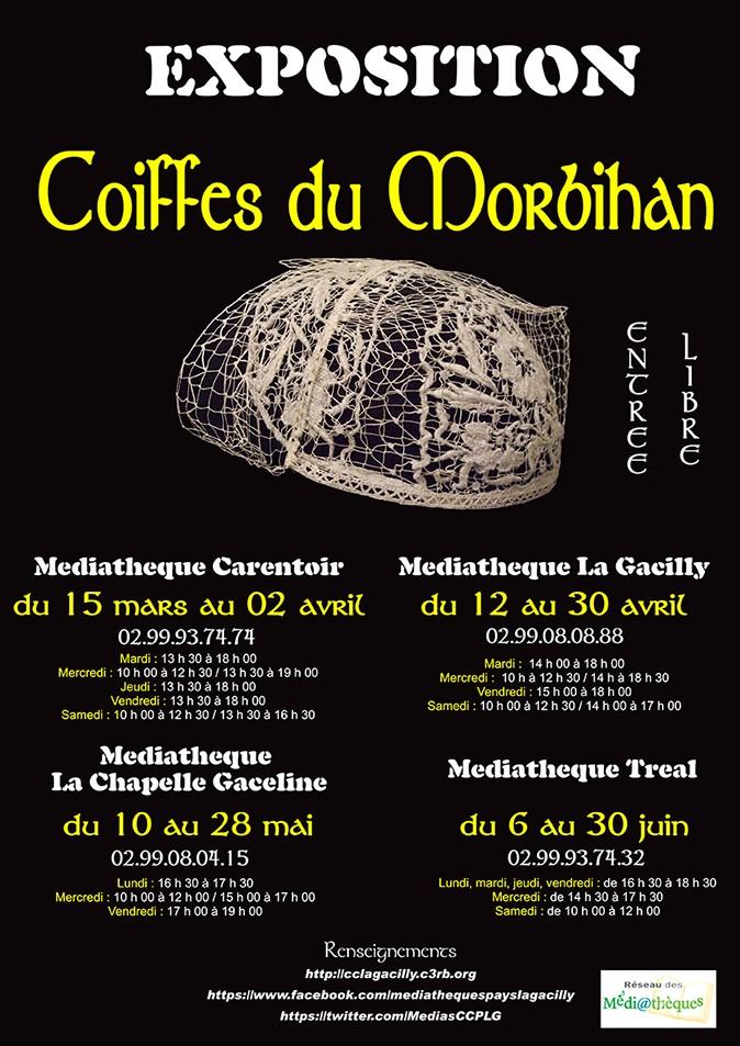 EXPO Coiffes du Morbihan Affich10