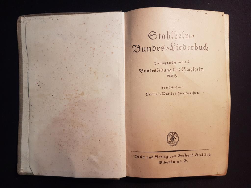 Divers livres allemand 20181015