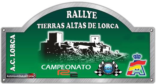 Confirmación para el Shakedown Rally Tierras Altas de Lorca R2 2016 Logo10