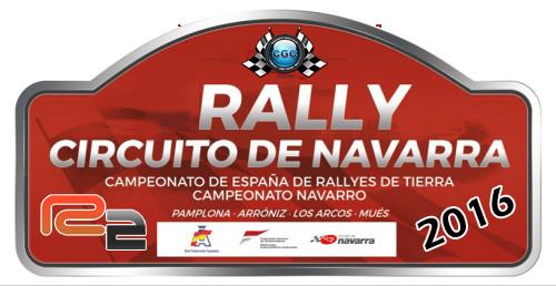 Confirmación para el Shakedown Rally Navarra R2 2016 Logo11