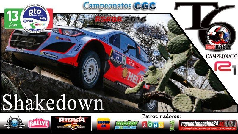 Confirmación para el Shakedown Rally México R1 2016 Shake10