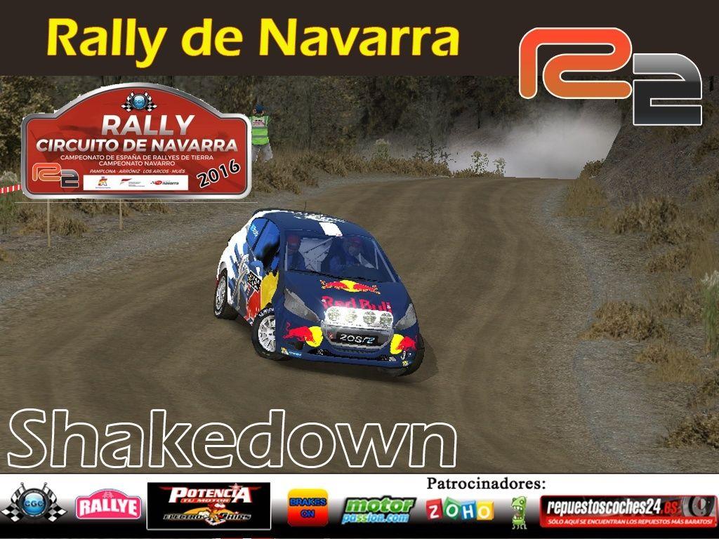 Confirmación para el Shakedown Rally Navarra R2 2016 Shake11